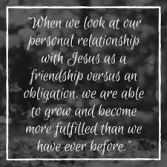 Jesus friend quote