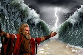 moses part red sea