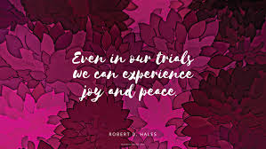Peace and Joy in DifficultCircumstances